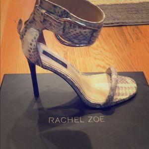 Rachel Zoe snakeskin heels